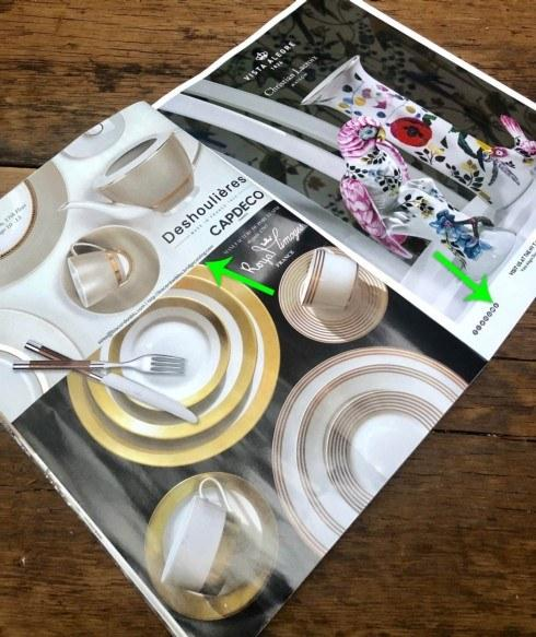 March 20 Nice to see Bridge mentioned in two consecutive ads in Tableware Today Deshoulieres and Vista Alegre... Read full Chalk & News from Bridge about e-commerce gift u0026 bridal registries self ...