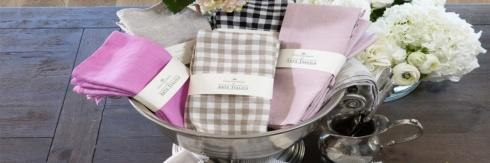 Napkins by Crown Linen Designs collection with 41 products