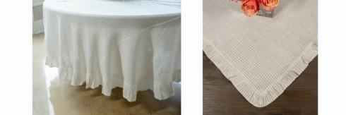 Table Squares & Tablecloths by Crown Linen Designs collection with 14 products