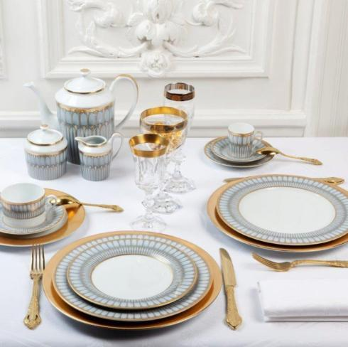 Arcades grey & gold collection with 19 products
