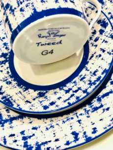 Recamier - TWEED BLUE collection with 6 products