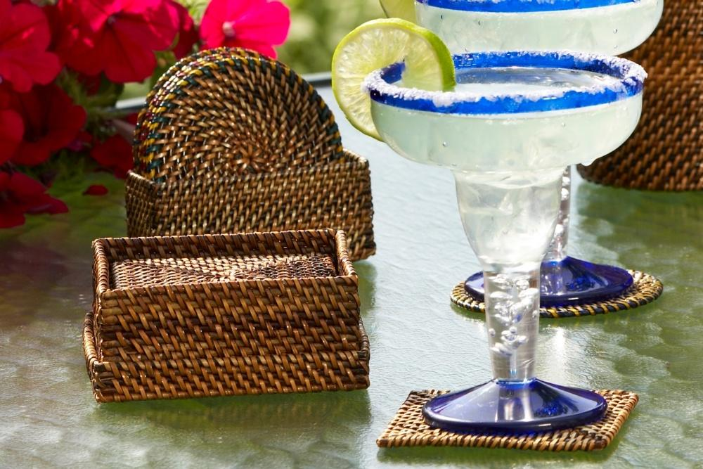 Lifestyle image 1 for Handwoven  Coasters