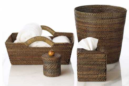 Handwoven Tote Basket collection with 3 products