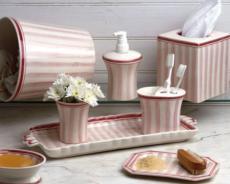 Pink Bath <br>+ Costa Nova Pink collection