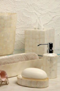 Casafina  Bath Collection - Pearl Capiz