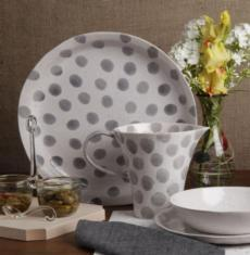 Spot On - Gray Spots collection
