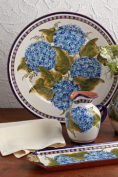 Alentejo Terracota - Hortensia collection with 8 products