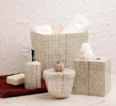 Organic Bath - Ostrich Capiz collection