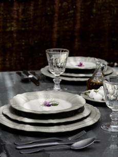 Village - Grey, Brown & Aubergine collection with 3 products