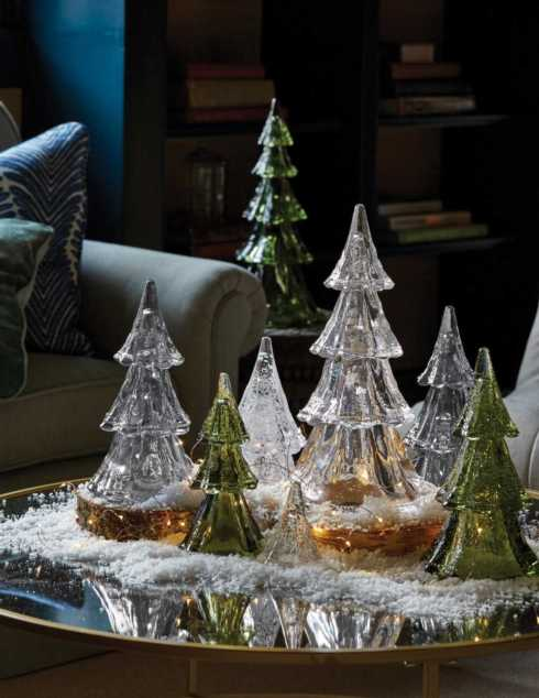 Berry & Thread Stackable Glass Tree collection with 6 products