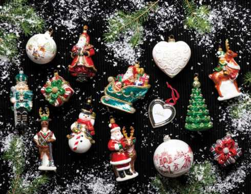 Ornaments collection with 17 products