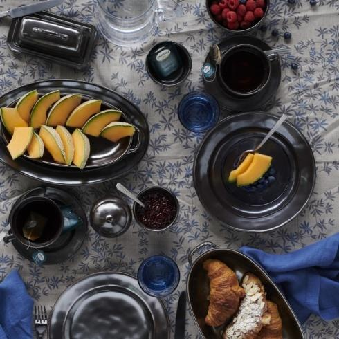 Pewter Stoneware collection with 25 products