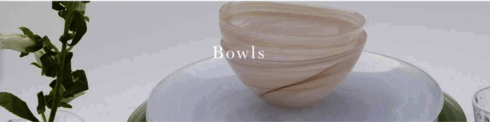 Bowls collection with 29 products