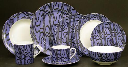 Kelly Wearstler Marquetry Periwinkle collection with 10 products