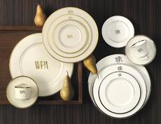 Signature Collection Monogrammed China collection with 1 products