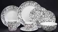 Kelly Wearstler Tracery Black on White collection with 9 products