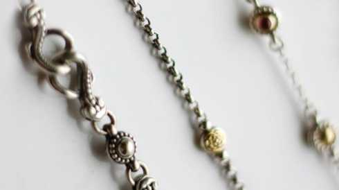 Sterling Silver Chain and Cord collection with 6 products