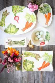 spring vegetables collection with 1 products