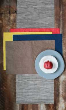 Washable Paper Placemats collection with 4 products