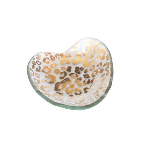 """$59.00 5"""" Cheetah heart bowl"""