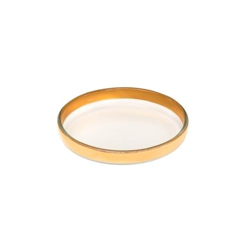 """6 1/2"""" small round plate"""
