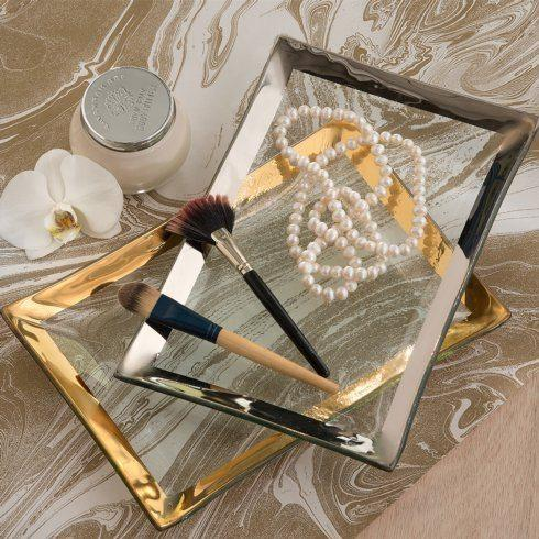 "12 x 8"" vanity tray"