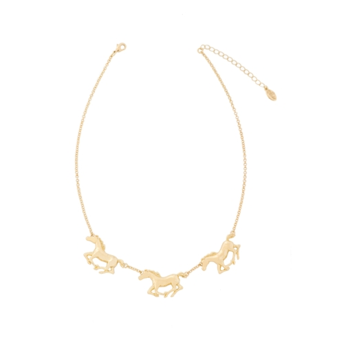 "$99 Necklace 18""-Gold Tone"