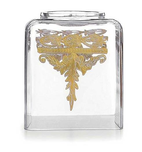 $325.00 Gold Tissue Box Holder