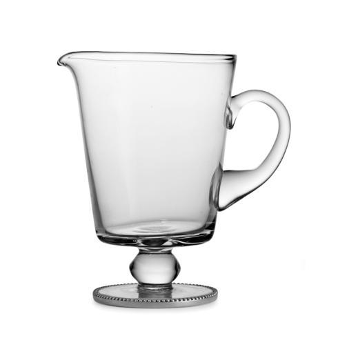 Footed Beaded Pitcher image