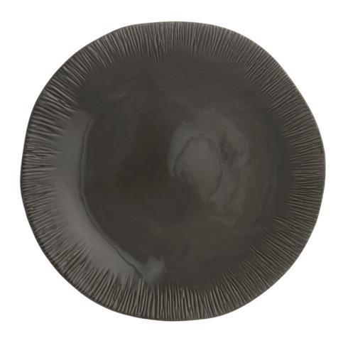 Grey Round Platter