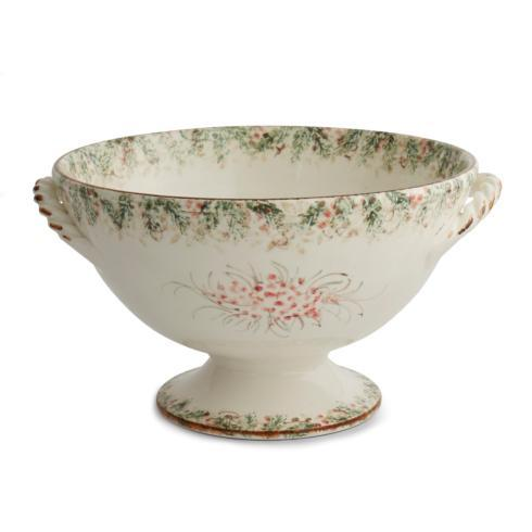 $262.00 Footed Bowl with Handles