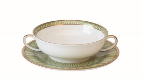 $100.00 Cream Soup Saucer