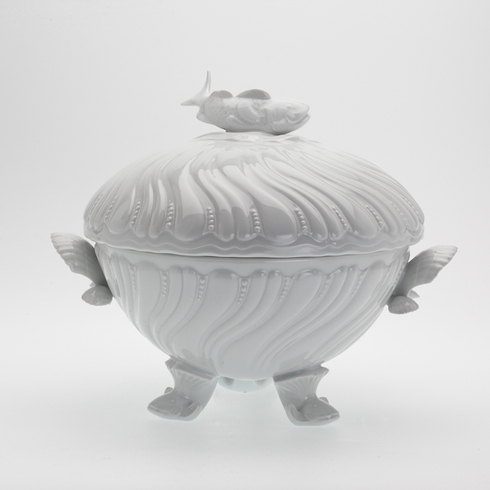 Fish soup tureen