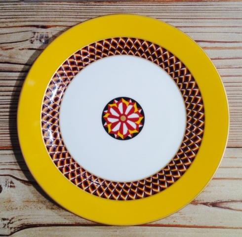 Yellow Dessert Plate