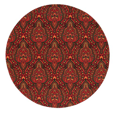 """$149.00 Red 15"""" Rd Mat - Pack of 6"""