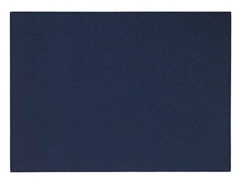 "$149.00 Navy 13""x18"" Rectangle Mat - Pack of 6"