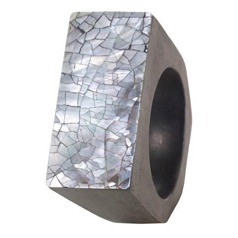 $72.00 Gray Napkin Ring Pack of 4