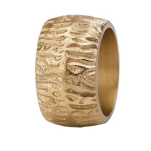 $50.00 Bark Gold Napkin Ring - Pack of 4