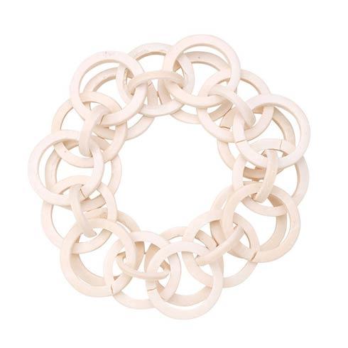 $54.00 White Napkin Ring - Pack of 4