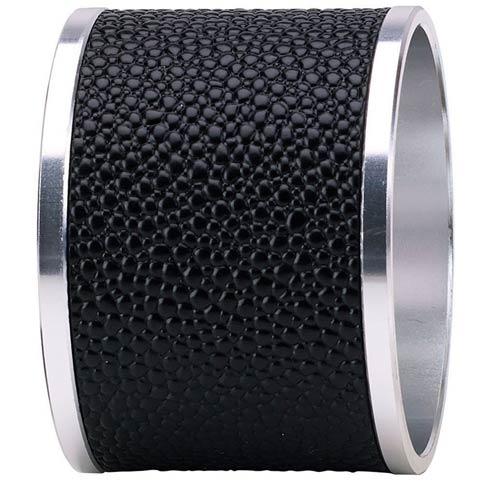 $68.00 Black Napkin Ring - Pack of 4