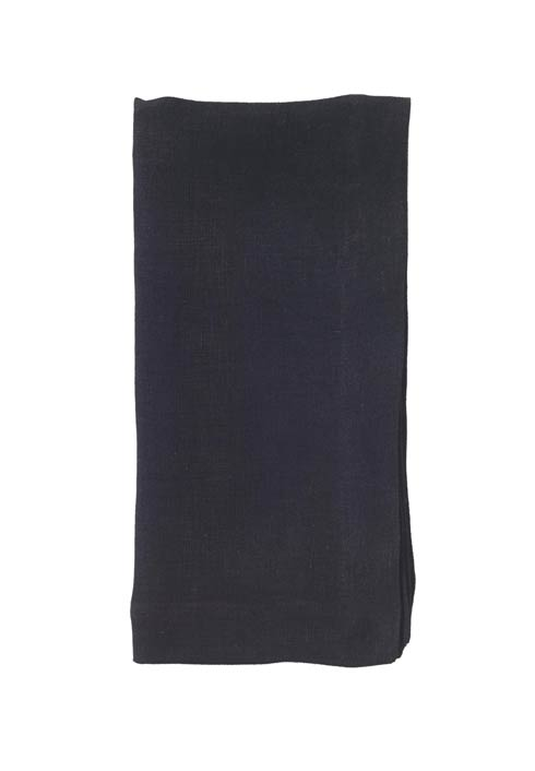"$122.00 Black 22"" Napkin - Pack of 6"