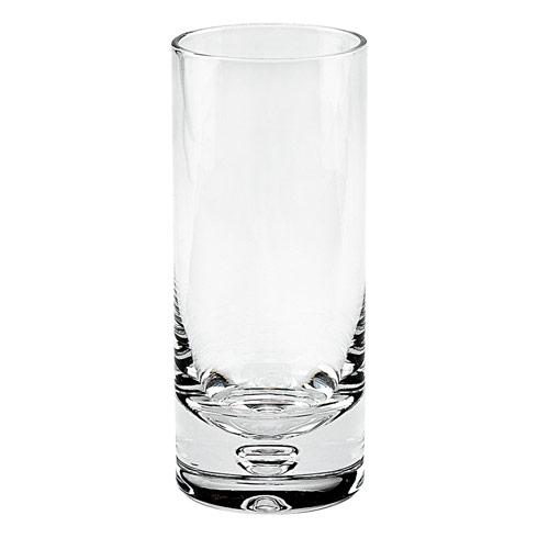 $59.00 Galaxy Mouth Blown Lead Free Crystal Hiball Glass -13oz - 4 pc Set