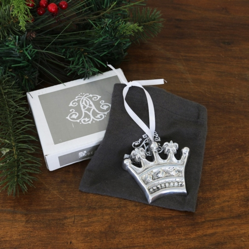 $23.00 Crown Ornament