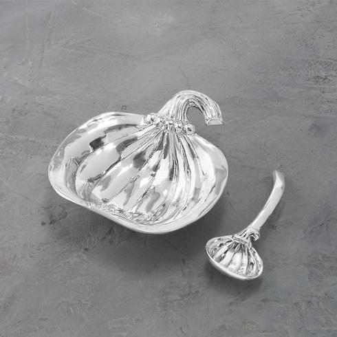 $51.00 Holiday Pumpkin Bowl with Spoon