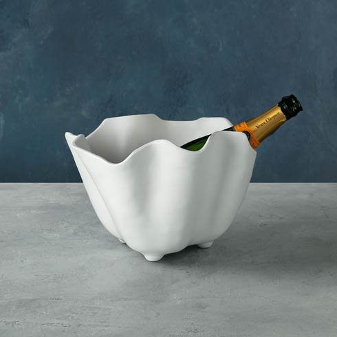 $60.00 Nube Ice Bucket White