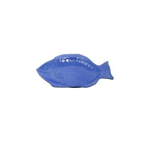 Small Fish Platter, Cobalt
