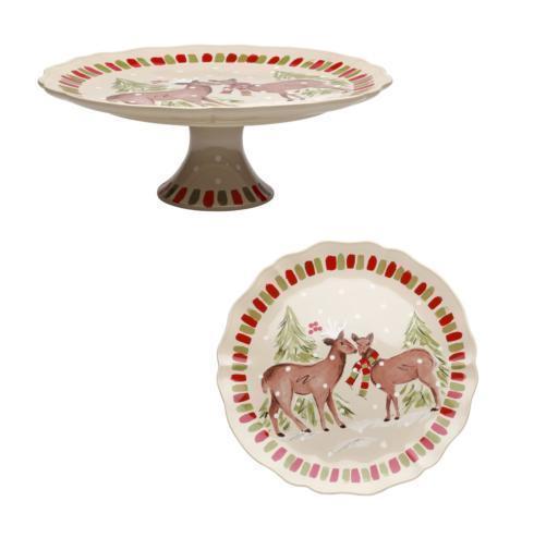 $99.00 Lg. Pedestal Plate