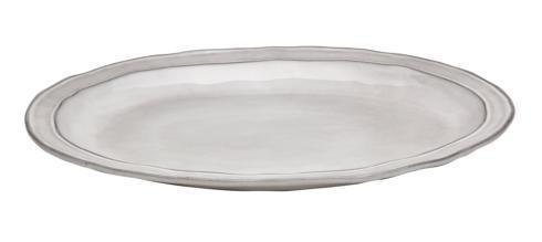 Oval Platter, White (1)