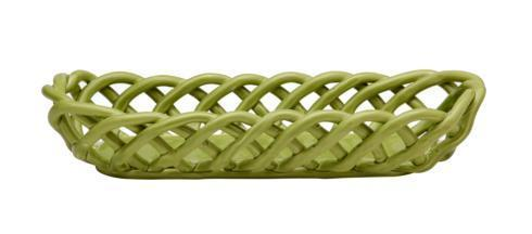 $59.00 Baguette Basket, Green