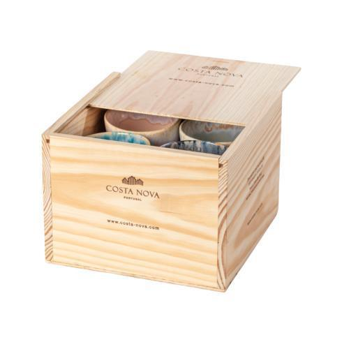$159.00 Gift Box Set 8 Lungo Cups (Multicolor)